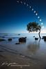 Partial Solar Eclipse 2012 ([ Kane ]) Tags: sun tree water eclipse photo rocks australia qld kane 2012 solareclipse gledhill