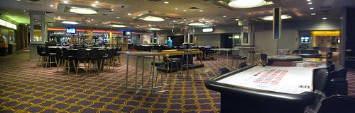 Claridge Casino Empty Floor