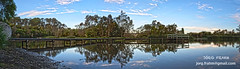 Laratinga Wetlands - Mount Barker - South Australia! (J. Frahm) Tags: bridge trees sky panorama cloud naturaleza reflection tree nature water clouds puente arbol agua arboles australia cielo panoramica nubes wetlands southaustralia hdr highdynamicrange nube reflejos wetland mountbarker humedales humedal laratinga 3hdr hdrpanorama altorangodinamico 9fotos laratingawetlands 9pictures panoramicahdr suraustralia humedalesdelaratinga