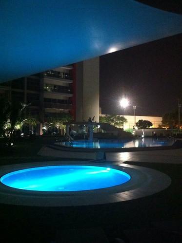Swimming pool, Park Rotana, Abu Dhabi