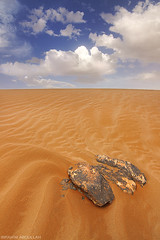 ( ibrahim) Tags: sky nature rain stone clouds canon landscape photography eos sand desert photos tokina drought sands ibrahim abdullah        50d     canon50d altamimi  alyahya  tokina1116mm