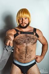 He-Man (Philip Bonneau) Tags: shirtless hairy man beard underwear sword philip heman mastersoftheuniverse bonneau
