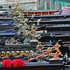 Gondola Decorations Line Up (rgb48) Tags: venice decorations italy boats europe gondolas vftw