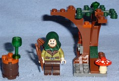 Lego Hobbit 30212 - Mirkwood Elf Guard (Darth Ray) Tags: toys us lego guard elf r hobbit mirkwood polybag 30212