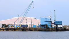 Land & Marine Constructor Barge (sab89) Tags: docks marine birkenhead land barge wirral constructor