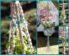 Tranquility Handmade Natural Hemp Macrame Plant Hanger (Macramaking- Natural Macrame Plant Hangers) Tags: blue plants plant green glass hippies garden fun happy beads colorful natural herbs gardening handmade oneofakind decorative character creative peaceful tranquility northcarolina funky retro string hanging fengshui flowing organic cheerful boho planter refreshing acqua darling groovy hang bohemian homedecor hanger beachhouse eyecandy macrame beachy seaglass dainty hemp madeinusa ecofriendly accessory conversationpiece hangingbasket bluesea shabbychic officedecor bohochic containergardening macram planthanger planthangers hangingplanter macramebeads decorativeknotting naturalhemp macrameplanthanger macramakin macramaking chinesecrownknot httpwwwetsycomshopmacramaking macramecord macracord macrametechnique macramehangingbasket macrameweaving macramelove