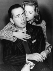 Lauren Bacall and Humphrey Bogart (sweetvintagegal) Tags: love vintage couple humphreybogart laurenbacall
