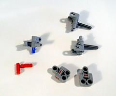 Heavy-duty u-joint idea (LegoMarat) Tags: lego technic trtr ujoint