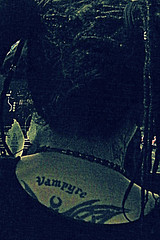 """""""Vampyre"""" - MEN Arena (thepicturedrome) Tags: pictures uk people men tattoo marilyn manchester flickr audience photos zombie crowd images rob arena photographs vampyre manson"""