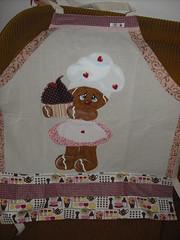 Avental Ginger (Pintura em tecido. Panos de prato.) Tags: ginger avental