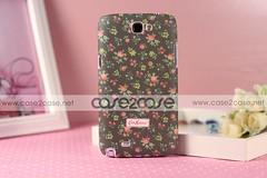 Cath Kidston case for Samsung Galaxy Note 2 II Flora Grey —— $29.99