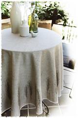 Bistro Tablecloth - Wheat (KristopherK) Tags: digital print french table wheat bistro tablecloth spoonflower kristopherk