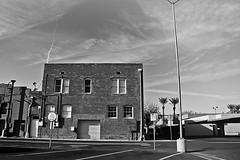 mesa 2144 (m.r. nelson) Tags: arizona urban bw usa southwest monochrome america blackwhite az bn americana mesa urbanlandscapes artphotography mrnelson newtopographic markinaz sonya77 nelsonaz