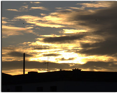--- Welcome Winter-- The First Sunrise -- 01.12.2012