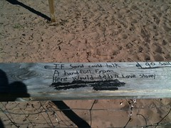 Sandy Stories (Jeanne W Pics) Tags: beach minnesota words sand duluth lakesuperior worldpeace parkpoint