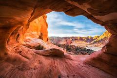 Window View (Eddie 11uisma) Tags: southwest valleyoffire landscape desert american eddie overton nevadalasvegas lluisma whitedomesslotcanyonvalleyoffirestatepark