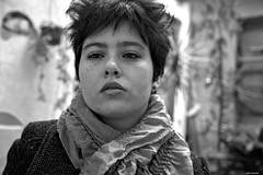 (© Lluvia fotografía) Tags: españa blancoynegro valencia tristeza europa retrato bn 5d canon5d autorretrato proyecto sentimientos lluviadevargas lluviafotografía