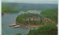 slaughters resort 1960 postcard (Tripp124) Tags: tennessee 1960 kentuckylake cypresscreek cypressbay slaughtersresort billslaughter resort1950 tonislaugher