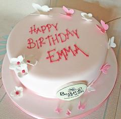 Bean & Brush Birthday Cake 1