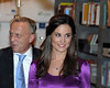 Pippa Middleton promoting her book ''Celebrate: A Year of Festivities for Family and Friends'' at the de Vries bookstore. Haarlem, The Netherlands