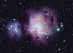 NGC1975 & M42 (sealsjc) Tags: astrophotography orion m42 dx stellarvue parsec cgem Astrometrydotnet:status=solved sv80st Astrometrydotnet:version=14400 uploaded:by=flickrmobile flickriosapp:filter=nofilter Astrometrydotnet:id=alpha20121212739011
