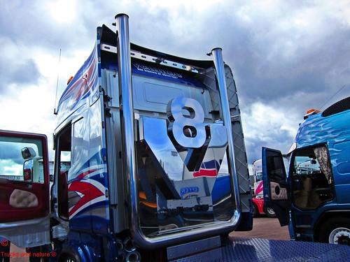 Scania v8 Logo Scania v8 Stacks
