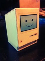 PaperCraft Mac (JoseCastillo Photo) Tags: apple paper mac cut crafts fold chameleon papercraft uploaded:by=flickrmobile flickriosapp:filter=chameleon