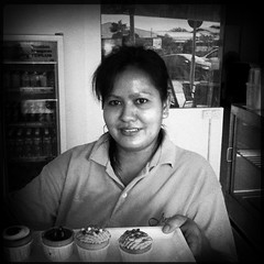 """You can't buy happiness, but you can buy cupcakes. And that's kind of the same thing."" - unknown (clazirus) Tags: street blackandwhite bw malaysia penang bnw iphone unohu clazirus hipstamatic uploaded:by=flickrmobile flickriosapp:filter=nofilter"
