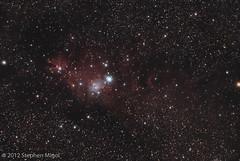 Cone Nebula Dec 18 (S Migol) Tags: pentax astrophotography astronomy astrophoto smigol ngc2264 conenebula sh2273 christmastreecluster pentaxk10d Astrometrydotnet:status=solved stephenmigol stellarvuesv4 Astrometrydotnet:version=14400 copyright2012 Astrometrydotnet:id=alpha20121267201126