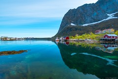 Lofoten, Norway (tryggstrand) Tags: colorful colors travel world earth light lights summer beautiful mountains mountain reflection reflections 500px instagram flickr ngc nature landscape landscapes water sea tamron nikon norway lofoten
