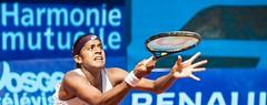 Teliana Pereira (Brsil) (Graffyc Foto) Tags: teliana pereira bresil brazil tennis itf pro circuit wta lorraine open 88 de contrexeville vosges graffyc foto 2016 nikon d700
