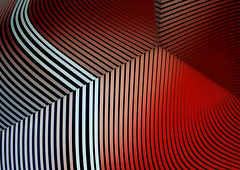 Red tiger (Annalisa Albuzzi) Tags: abstract mirrors minimal colours red white black canon eos
