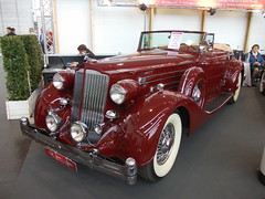 Packard Twelve Cabriolet Coup 1936 (Zappadong) Tags: techno classica essen 2016 packard twelve cabriolet coup 1936 zappadong oldtimer youngtimer auto automobile automobil car coche voiture classic classics oldie oldtimertreffen carshow