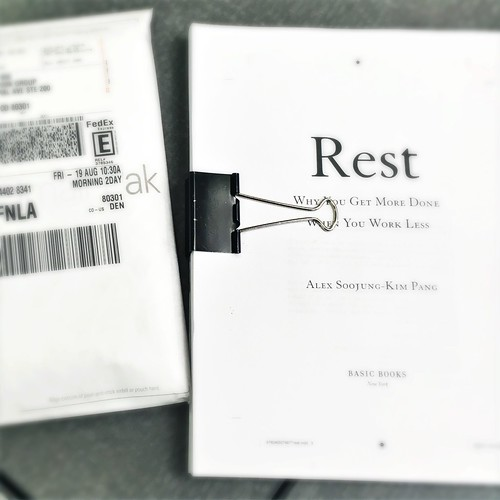 Sending back the page proofs!