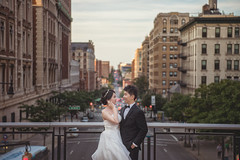 [somewhere in NewYork] city, street and you (pooldodo) Tags: wedding prewedding street city urban newyork usa pooldodo taotzuchang