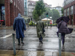 rainy day (kleppertomanie) Tags: klepper regenmantel raincat mac rainwear hood boots wellies rubberboots gummistiefel rain regen