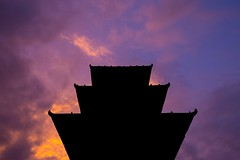 Patan Sunset 2 (Crossing China) Tags: nepal kathmandu ktm travel travelphotographer portrait street streetphotography streetportrait himalayas mounteverest mountains mountain mountainflight shadow girl cute nepali nepalese sunset