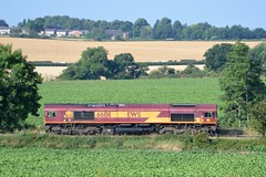 DBC 66011 at North Anston (parkgateparker) Tags: 66011 northanston syjnt southyorkshirejoint