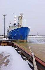 Namao (chearn73) Tags: gimli manitoba lakewinnipeg marine boat winter ice canada prairies