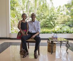 President Kagame Meets with Wendy Waeni | Kigali, 10 September 2016 (Paul Kagame) Tags: kagame wendy waeni rwanda kenya