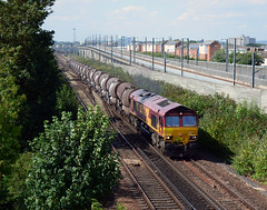 66086 6B47 Willesborough (Edward Clarkson's railway photography) Tags: 66086 6b47 willesborough wembley dollands moor