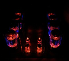 Almarro A50125A tubes glowing in the dark (teddy_qui_dit) Tags: almarro a50125a tubeamp amplificateurlampe amplificateurtubes vaccumtube madeinjapan quality