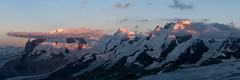 Mont Rose (Eric.G) Tags: panoramique d750 breithorn montrose lyskamm