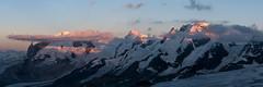 Mont Rose (Eric.G) Tags: panoramique d750 breithorn montrose lyskamm
