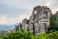 Meteora, Greece (christinadimitriadou) Tags: rocks mountain summertime nature landscape outdoor beautifulearth meteora kalampaka