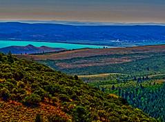 Bear Lake, Utah (oybay) Tags: bearlakeutah bearlakevisitorcenter bearlake bear lake utah view vista sky mountain hill rockymountains infinity stunning beach landscape outdoor cliff coast shore ridge bluff crag rock water