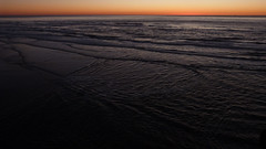 A13404 / very late in the day at ocean beach (janeland) Tags: sanfrancisco california 94121 richmonddistrict oceanbeach pacific sunset crepuscular black orange february 2016 ongrey