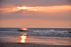 Ying Yang waves (Pics4life.nl off and on next week) Tags: sunset waves ying yang nature sea beach colorful netherlands
