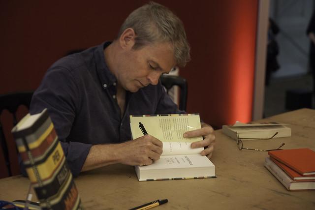 Mark Haddon Book Signing