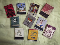 Matchbook collection - 1950s 1 (NettyA) Tags: matchbooks collection collecting old vintage matchboxes matchboxcollection appleiphone6 australia 1950s queenelizabeth coronation 1953 commemorative